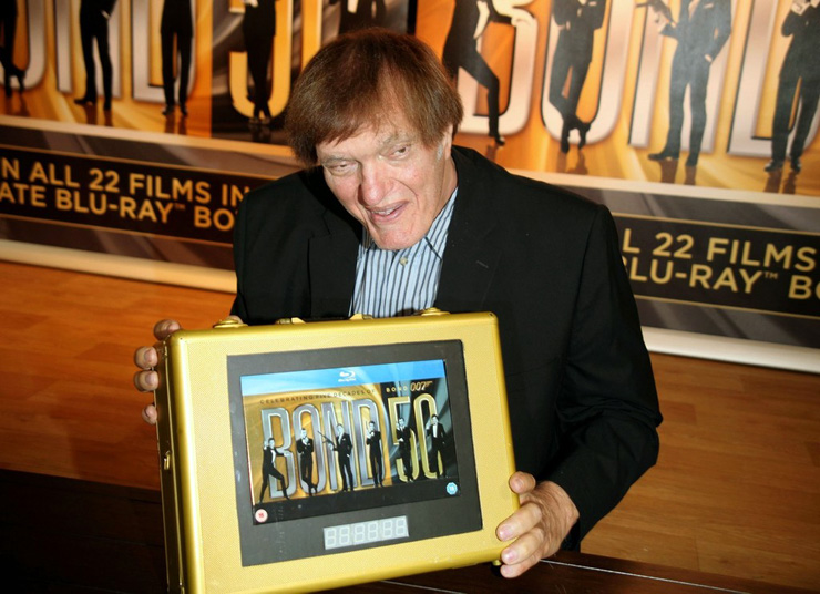 Richard Kiel at the end of the Bond 50 Blu-ray collection tour