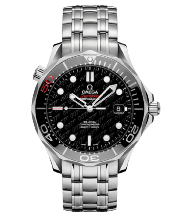 The James Bond 007 50th Anniversary Collector's Piece OMEGA Seamaster Diver 300m