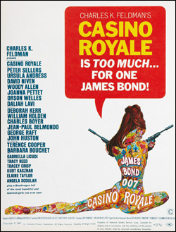 Casino Royale poster artwork by Robert McGinnis