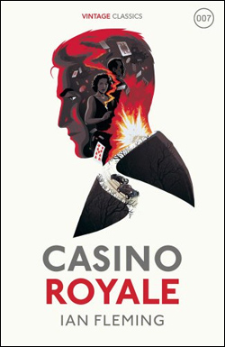 Vintage Fleming: CASINO ROYALE with cover artwork by Levente Szabo