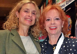 Bond Girls Maryam d'Abo and Luciana Paluzzi at Chiller Theatre