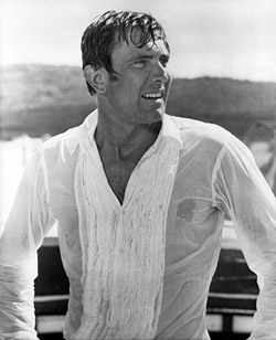 George Lazenby in On Her Majesty's Secret Service (1969)