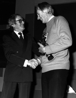 James Bond composers John Barry and George Martin