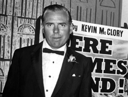 Kevin McClory at the Irish premiere of Thunderball (1965)