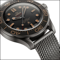 New OMEGA Seamaster Diver 300M No Time To Die Edition launched in NYC