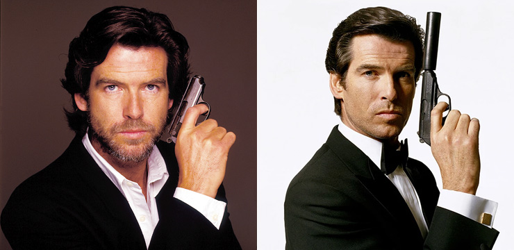 Pierce Brosnan Photographed by Terry O'Neill 1995