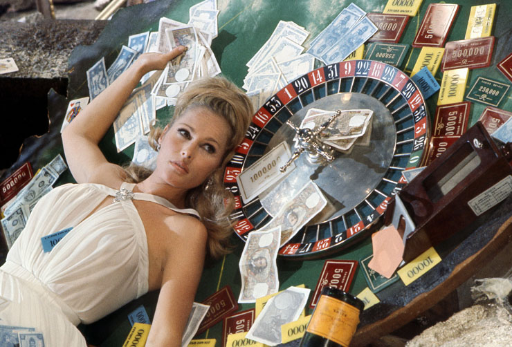 Ursula Andress in Casino Royale (1967) Photograph by Terry O'Neill