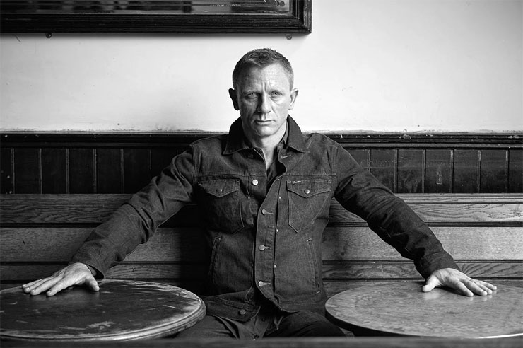 Daniel Craig 2012 Photograph by Terry O'Neill