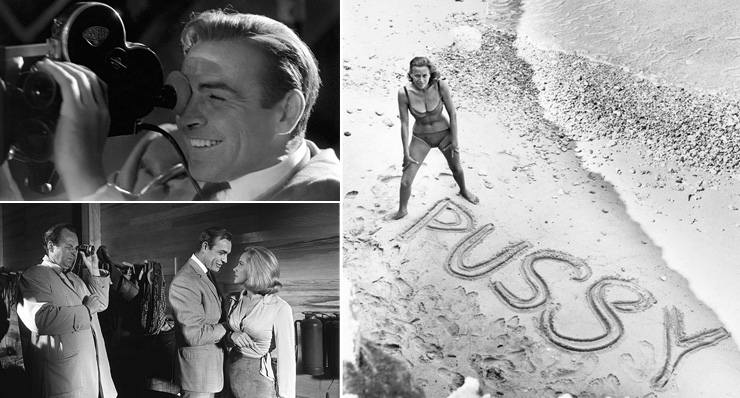 Goldfinger (1964) Photographs by Terry O'Neill