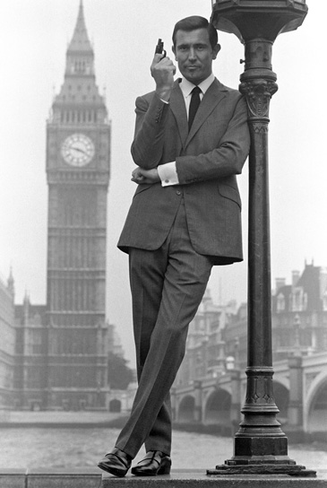 George Lazenby On Her Majesty's Secret Service (1969) Photograph by Terry O'Neill