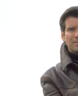Pierce Brosnan as James Bond 007 in Tomorrow Never Dies (1997)