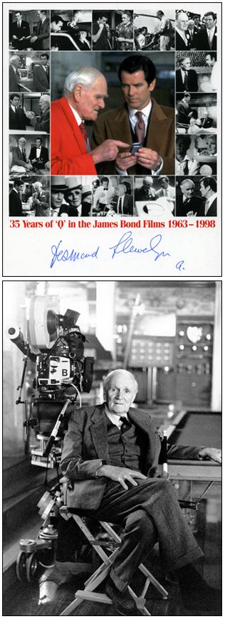35 Years of Q in he James Bond Films 1963-1998 | Desmond Llewelyn (1914-1999)